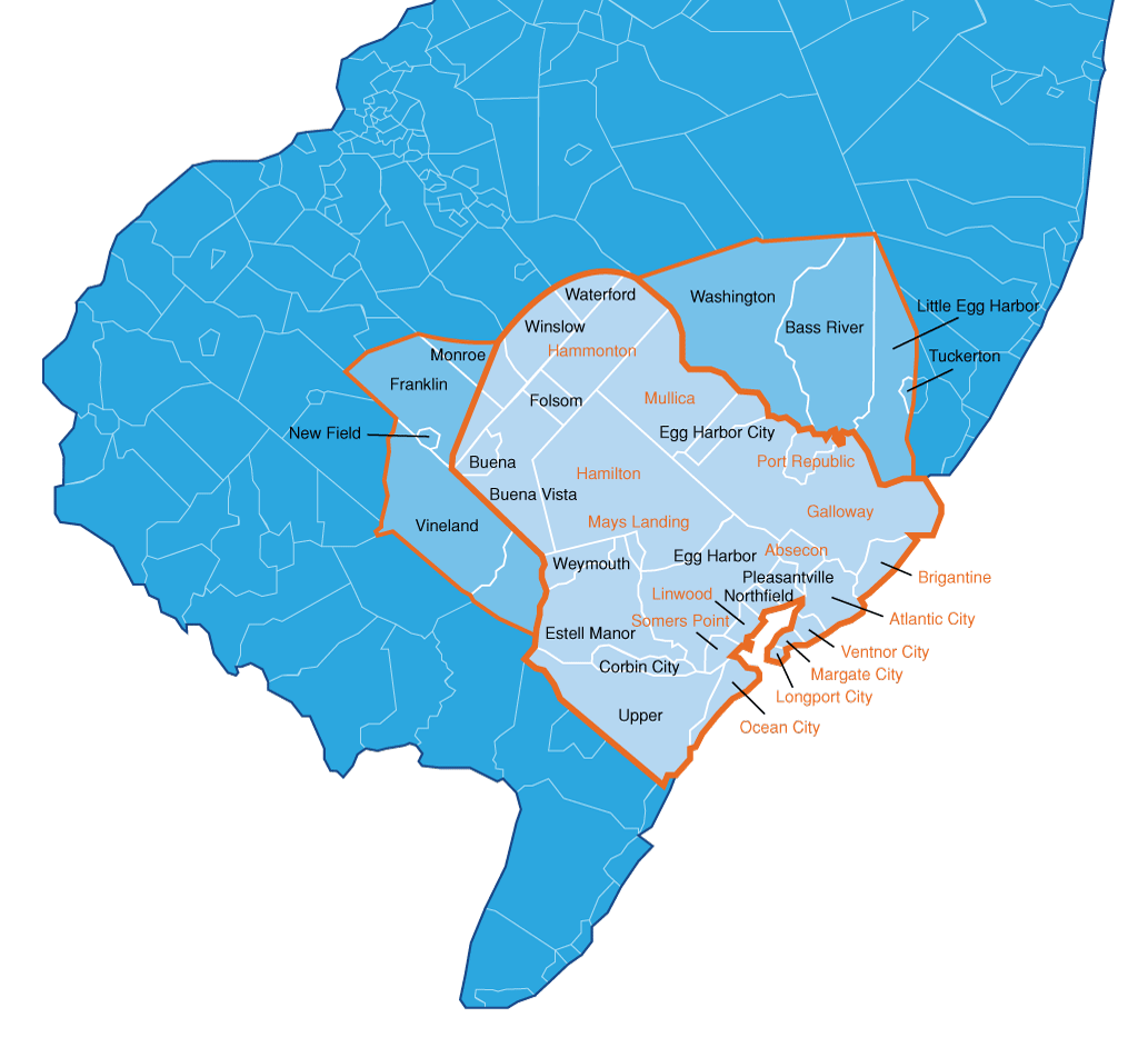 Water Central Service Area